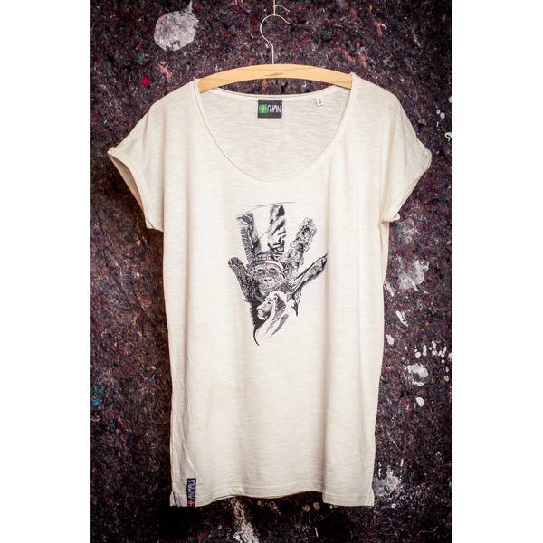 FHAN Animals Hand Shirt - Women